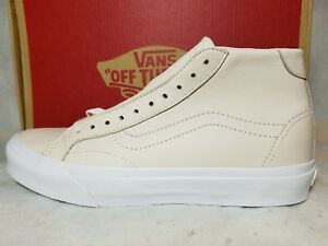 f1842db01f7300 New Vans Court Mid DX Women Size 9.5 Leather Delicacy Light Pink Tan ...