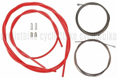 Red Housing Set NIB Shimano Road PTFE Brake Cable