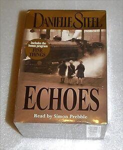 Echoes Danielle Steel 6 Cassettes Abridged Love War 3 Generations Fiction 2004
