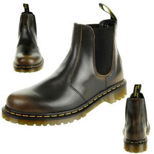 super cute speical offer wholesale online Details about Dr.Martens Men's Butterscotch Vintage 2976 Chelsea Boots  Leather Braun