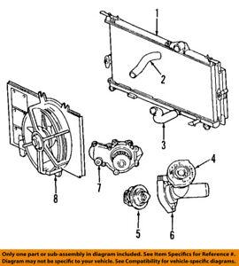 image is loading chrysler-oem-06-10-pt-cruiser-radiator-cooling-