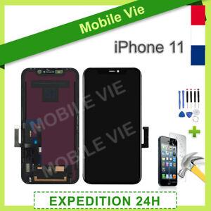ECRAN-VITRE-TACTILE-LCD-ASSEMBLE-SUR-CHASSIS-POUR-IPHONE-11-NOIR-OUTILS-FILM
