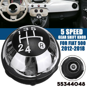 5-Speed-Car-Manual-MT-Gear-Stick-Shift-Knob-55344048-For-Fiat-500-2012-2018