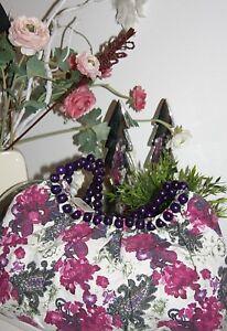 Borsa Nuovo Fiore Deluxe Clayre Big Eef Tessuto perline rosa Bag z4rzBw7x
