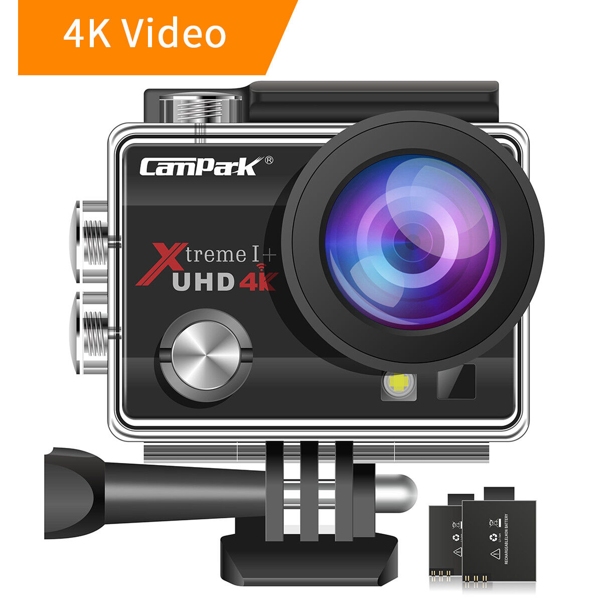 Campark ACT74 Action Camera 16MP 4K WiFi Photography Sports Cam 170° Underwater Featured