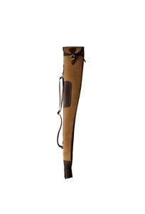 Woodlands-Vintage-52-034-Leather-amp-Canvas-Shot-Gun-Slip-Bag-Rifle-Carry-Case-UK
