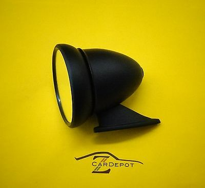 Datsun 240Z 260Z 280Z 280ZX 510 Bullet GT Style  Exterior Mirror Black Vintage