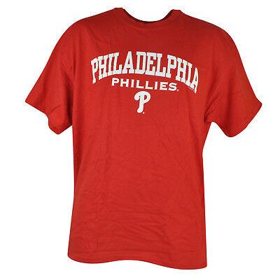 Genossenschaft Mlb Philadelphia Phillies T-shirt Becher Sets Rot Baseball Shirt Baumwolle Mens Erfrischend Und Wohltuend FüR Die Augen Sport Weitere Ballsportarten