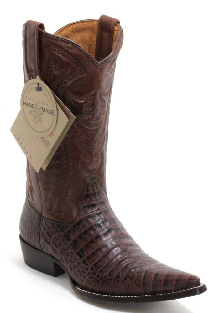 185 Bottes De Cowboy Western Texas Catalan Style Pottawatomie Braun 41