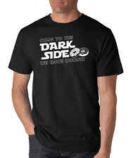 COME TO THE DARK SIDE WE HAVE DONUTS funny T-Shirt star wars movie college humor