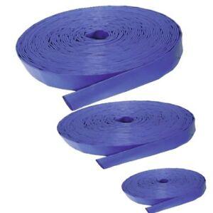 Lfb-bleu Layflat Tuyau ** Multi Annonce ** Toutes Les Tailles Et Longueurs-afficher Le Titre D'origine