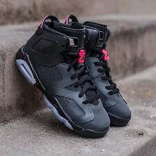 2017 Nike Air Jordan 6 VI Retro Black Hyper Pink Size 9.5y. 543390-008 1 2 3 9.5