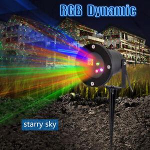 image is loading christmas laser lights projector outdoor led moving landscape