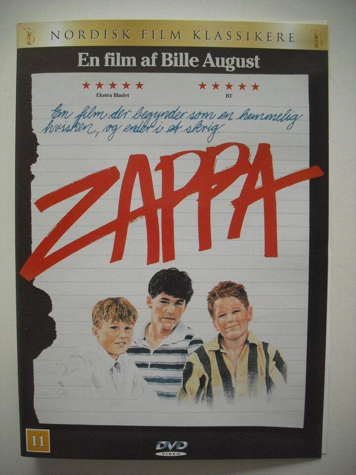 Zappa, DVD, drama