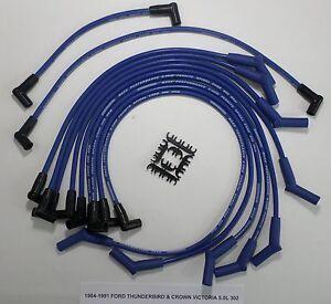 ford thunderbird crown victoria 1984 1991 302 5 0l blue 8. Black Bedroom Furniture Sets. Home Design Ideas