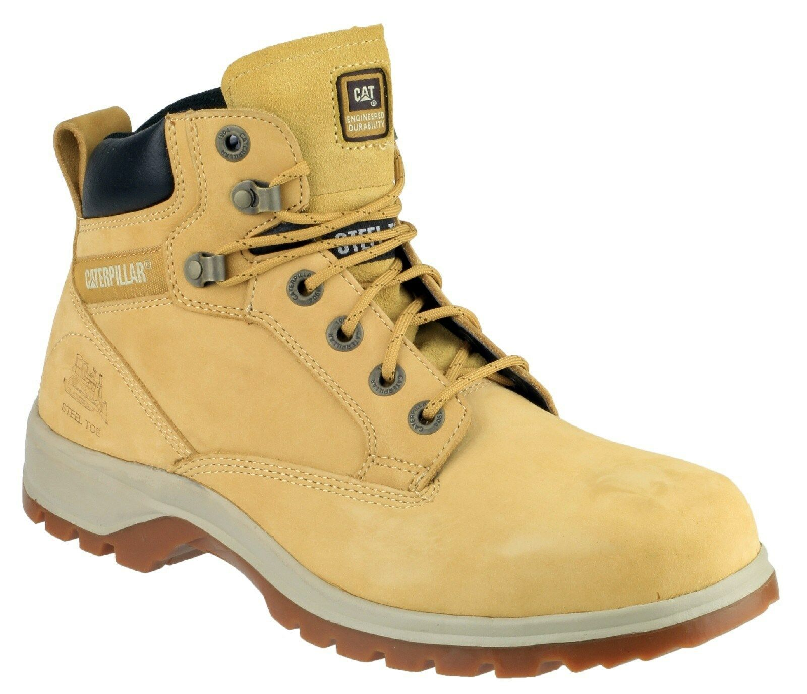 CAT Caterpillar Kitson Boots Womens Safety Work Hiking Boots Kitson UK3-8 e314af