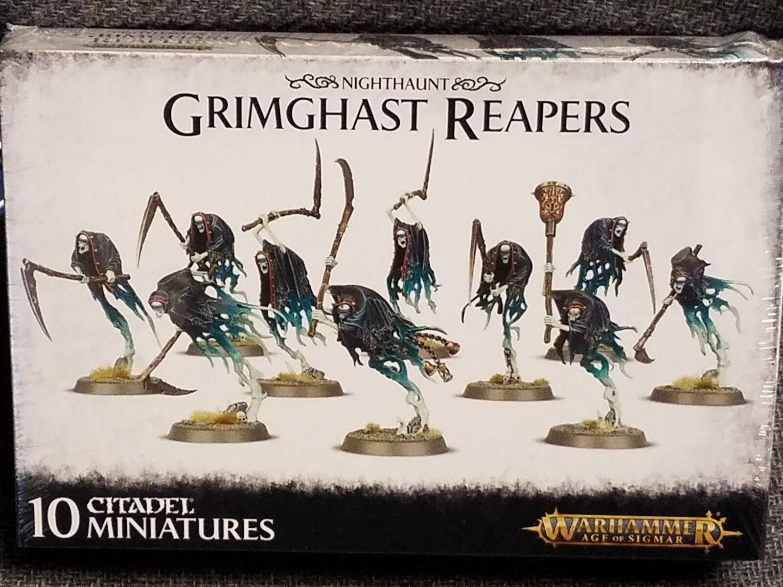 Grimghast segadores nighthaunt Warhammer edad de Sigmar Modelo Nuevo