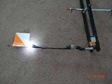 1 set of (3) Tip Up lights 360 degree LED ice fishing gps locator fish finder