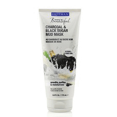 [Freeman] Charcoal&Black Sugar Mud Mask 175ml For Skin Face Home Esthetics