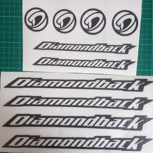 Diamondback Replacement Vinyl Decal Graphic Sticker Set MTB DH XC Bike