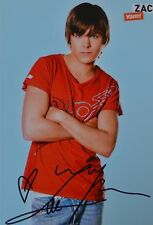 ZAC EFRON - Autogrammkarte - Signed Autograph Autogramm Clippings Fan Sammlung