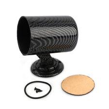 2 52mm Universal Single Gauge Cup Carbon Fiber Mount Bracket Swivel Cup Holder