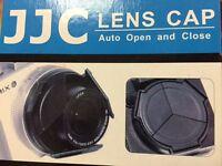 JJC Self-Retaining AUTO OPEN CLOSE LENS CAP FOR CANON POWERSHOT G1X G1 X ALC-G1X