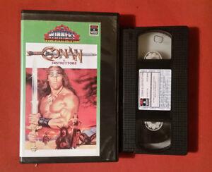 Actif Conan Il Distruttore (1984) Arnold Schwarzenegger - Vhs Edizione Columbia