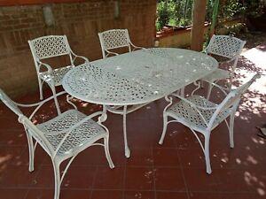Tavolo Giardino Rattan Allungabile.Dettagli Su Tavolo Poli Rattan Allungabile 220x90 Con 8 Sedie Rattan Per Esterno Giardino