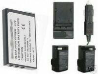 Battery + Charger For Panasonic Svav10u Svav10a Sv-av20