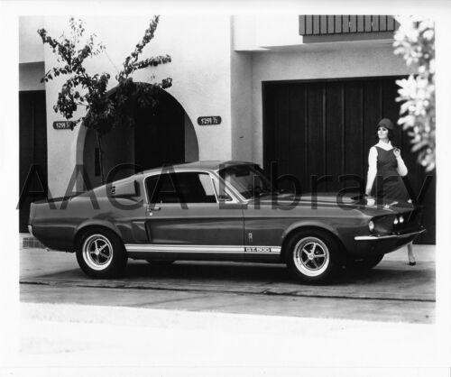Factory Photo Ref. # 74767 1967 Ford Shelby Mustang GT500 two door hardtop
