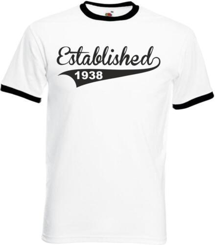 Homme Personnalisé drôle sonnerie anniversaire t-shirt établie en cadeaux Presents