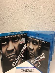 The Equalizer 2 Blu Ray+Digital HD Only NO DVD INCLUDED! Please Read! 43396488151