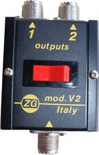 Antennenschalter Zetagi V 2, CB Funk, Amateurfunk, Trucker, LKW, Scanner, Neu