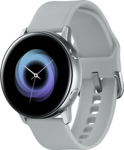 Samsung Galaxy Watch Active R500 Silver 4GB (Bluetooth 4.2) Smartwatch
