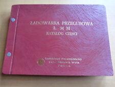 Ersatzteilliste Gelenk-Lader L34 M Polen Poland Loader Parts List Stalowa Wola
