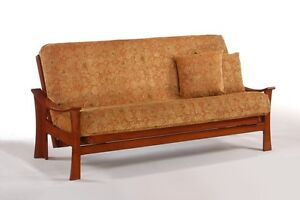 Futon Frame Solid Wood Fuji Sofa Bed