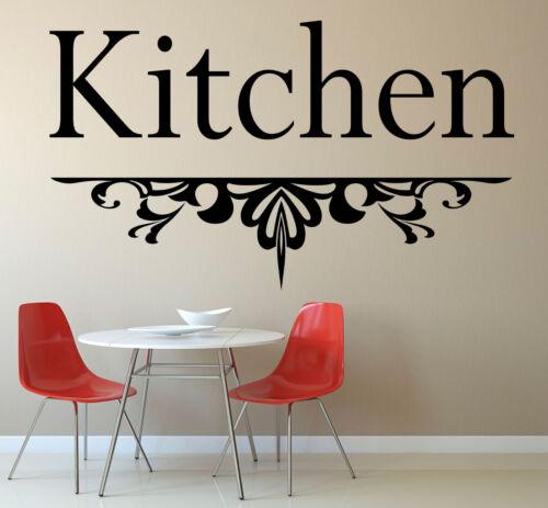Wall Art Vinyl Sticker Decal Kitchen Wall Art Sticker Kitchen