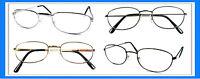 Reading Glasses[+1.00] 4 Metal Frame Wholesale Assorted Reader Men Women 1.00