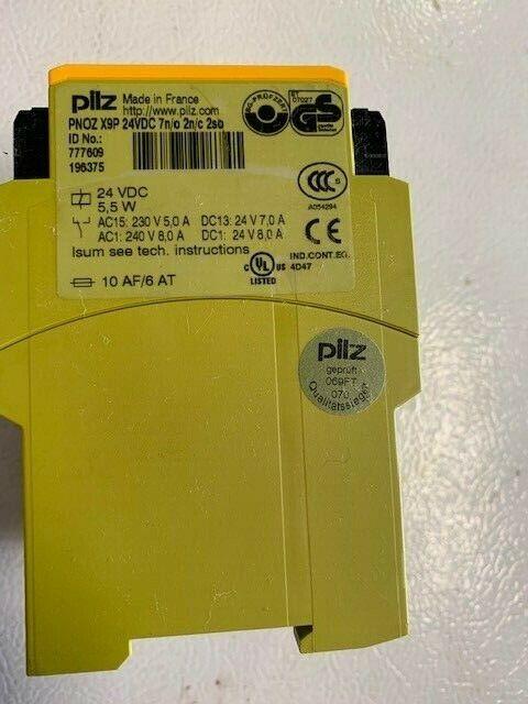 Pilz PNOZ-X9P Safety Relay 24VDC