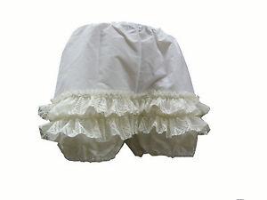 Short Can Can Pantaloons Victorian Bloomers 1890s Saloon Girl Panties 1815