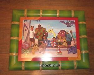 Lilo Stitch Picture Frame Bamboo Theme W 2003 Commemorative