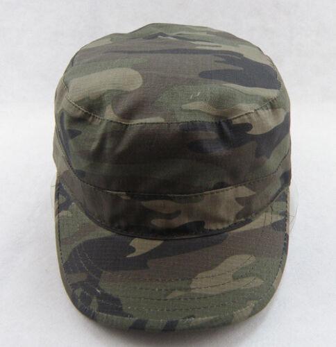 HOT Donne Uomini Camuffamento Mimetico Stile Militare dell/'Esercito Cadetto Cappello amanti all/'aperto