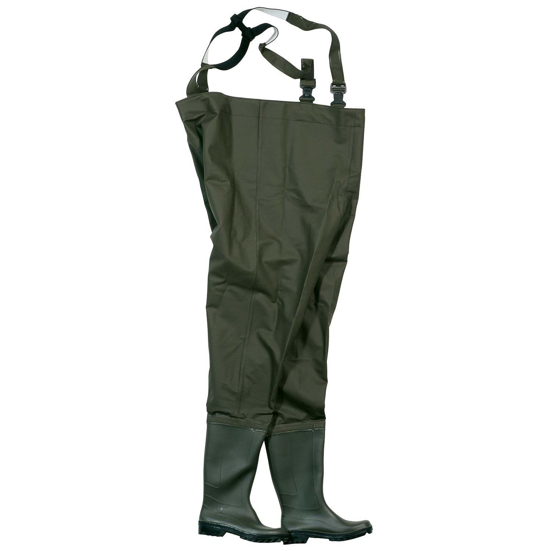 Ocean original  pantalón vadeador 500g PVC talla 46 verde oliva 57046 nuevo  100% garantía genuina de contador
