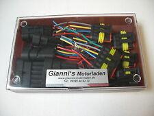 6xAMP Superseal Fertig-Stecker Set 1-6-polig Auto Motorrad, Quad,Lkw,Boot