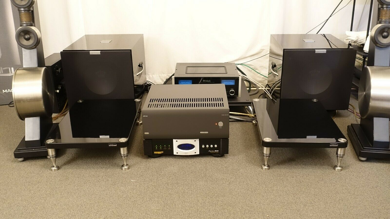SolidSteel HF-A High-End Amplifier Stands. Buy it now for 1199.99