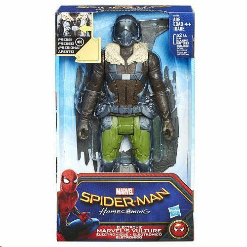 ELECTRONIC VULTURE 2017 SPIDER-MAN HOMECOMING MARVEL ACTION FIGURE ( SOUND FX )