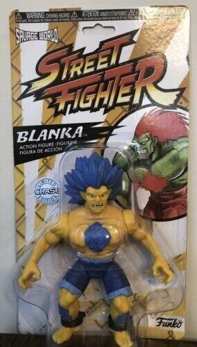 Funko Blanka LIMITED CHASE EDITION Savage World Street Fighter