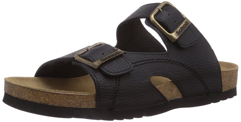 SCHOLL MOLDAVA AD BLACK Men's Open Toe Sandals