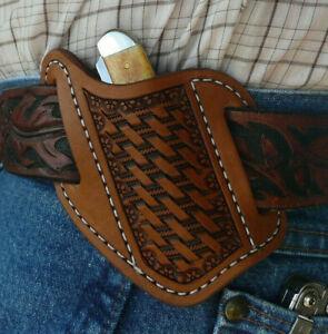 Small-Leather-Cross-Draw-Pocket-Knife-Sheath-Ruff-s-Saddle-Shop-Brown